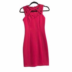 Guess Los Angeles dress.  Fuchsia. Size 2